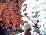 Сувенир из бисера (Дерево Любви, Красно-белое)