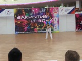 А-класс Скопинцев Алексей - Юрьева Анастасия - акробатика