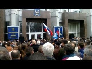Готовы стать на защиту Севастополя вооруженным способом