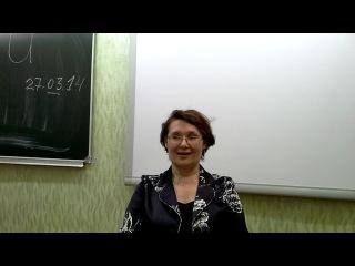 Наталья переводит с итальянского языка на французский.