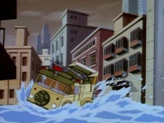 Черепашки Мутанты Ниндзя (1987). Сезон 3, серия 14. 20.000 лье под городом (20,000 Leaks Under the City)