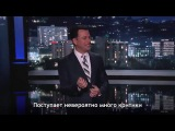 Американцы смеются над тренировкой Обамы. Русские субтитры.