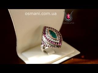 Кольцо Взгляд от OSMANI.COM.UA