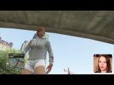 СМЕШНЫЕ МОМЕНТЫ За Кадром GTA Online -- Детка Геймер 10 - Саша Спилберг.