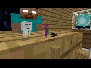 Школа Монстров Акробатика-Minecraft Анимация (мультик)