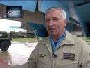 Рассказ начальника Липецкого авиацентра генерала Харческого об учебных боях Су-27 против F-15 в США в 1992 году.
