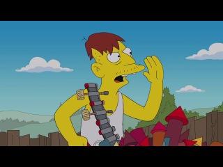 22серия 25сезон Симпсоны  Homer Tries to Buy Fireworks from Cletus from 'Yellow Badge of Cowardge' - THE SIMPSONS