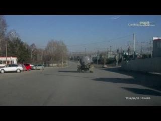Неадекват на встречной полосе | ДТП авария