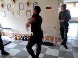 Амарр в армии, лезгинка