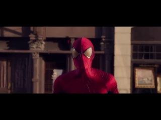 Новая Реклама! Человек паук в детстве Вода Evian[168484343]