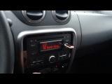 Штатная магнитола Renault Duster