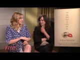 Ellen Page and Greta Gerwig on 'To Rome with Love'