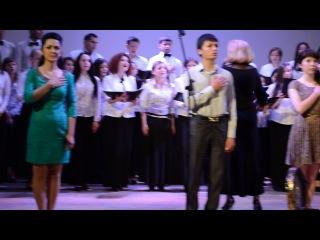 15 мая 2014 национальный гимн крымскотатарского народа. студенты РВУЗ КИПУ