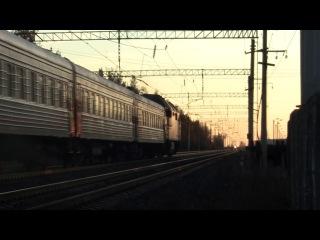 ТЭП70БС-093 с поездом №5 Петрозаводск-Санкт Петербург. Лодейное Поле.