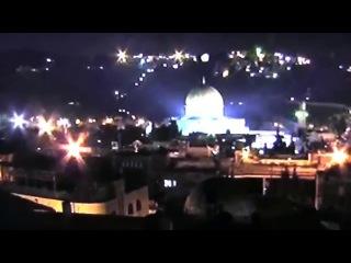 НЛО над мечетью Купол Скалы