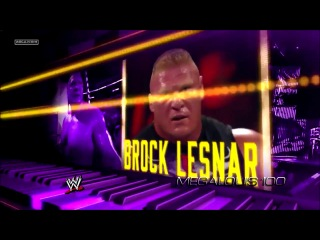 WWE Wrestlemania 30 Match Card - Undertaker vs Brock Lesnar [HD]