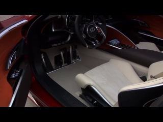 Тест драйв Lexus LF-LC (Лексус ЛФ-ЛС)