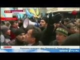 В Симферополе под стенами Верховного совета Крыма проходят сразу два митинга