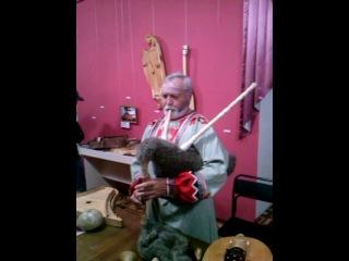 музейная ночь 2014 в барнауле мужичек играет на волынке