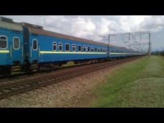 ЧС2-431 с поездом №12 Симферополь - Киев, 14.06.2014