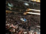 Сьемки Фила на Хоккейном матче 3