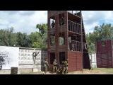 юные спецназовцы в военно-спортивном лагере