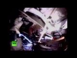 18.08.2014-Специальный эфир.Прямая трансляция выхода в открытый космос российских космонавтов МКС.(Дата-18.08.2014г.,2229мск.YouTube-RT на русском)