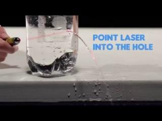 Научные фокусы с водой