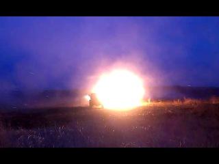 Стрельба из БМ в\ч 44980 Реактивный дивизион 2014