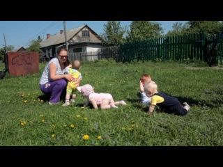 Наши сладкие детки: Тихон, Вера, Тимофей и Женя.