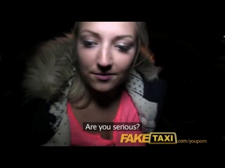 Youporn - faketaxi blonde with huge tits pays her debt