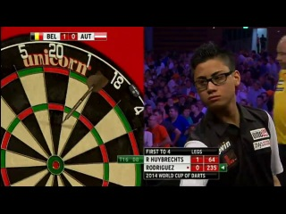 Belgium vs Austria (PDC World Cup of Darts 2014 / Second Round)