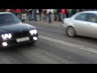 Alfa Romeo 156, 2.0TS vs BMW E38, 3.0D