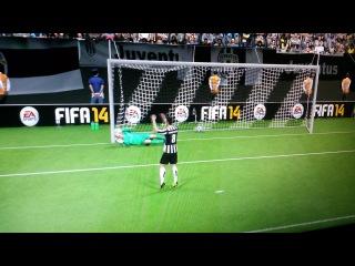 FIFA 2014 (PS4) JUVE VS MAN.CITY P.K 4-5
