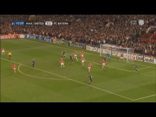 Arjen Robben goal vs. Manchester United (VINE)