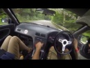 Дрифт Nissan Silvia от первого лица
