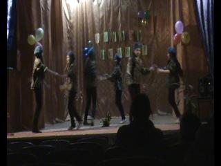 Смуглянка Танц группа Биение сердец