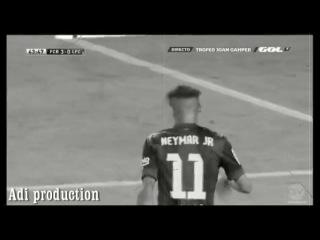 goal Neymar vs Leon.