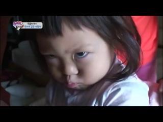 サランちゃん 2014 Choo Sarang Chan Sudden Frowning - A Random Cutie Baby Korean [HD]