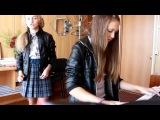 Александра Капустина и Лиза Петрова - Танец старинный) девочка очень красиво поёт)