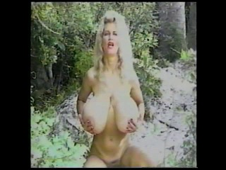 Busty dusty - alone in the jungle