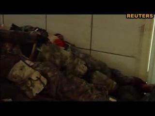 Морг в Донецке переполнен сепаратистами и чеченскими боевиками Кадырова.