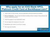 How to Apply for an ICICI Bank HPCL Platinum Credit Card ?