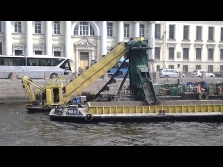 Работа земснаряда ЗМ-4  (РЛА 03-50)