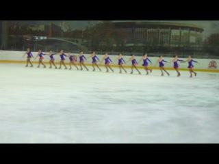 Синхронное фигурное катание команда Каскад Олимпийский 27.04.2014