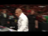 WWE Raw 17.03.14 Triple H attack Daniel Bryan