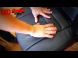 Как правильно одевать чехлы на передние сидения