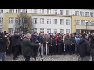 На Закарпатье главы МВД, СБУ и «Беркута» перешли на сторону народа