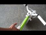 Велосипед с гироскопом