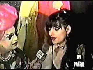 Nina Hagen - Interview us TV 'On patrol'